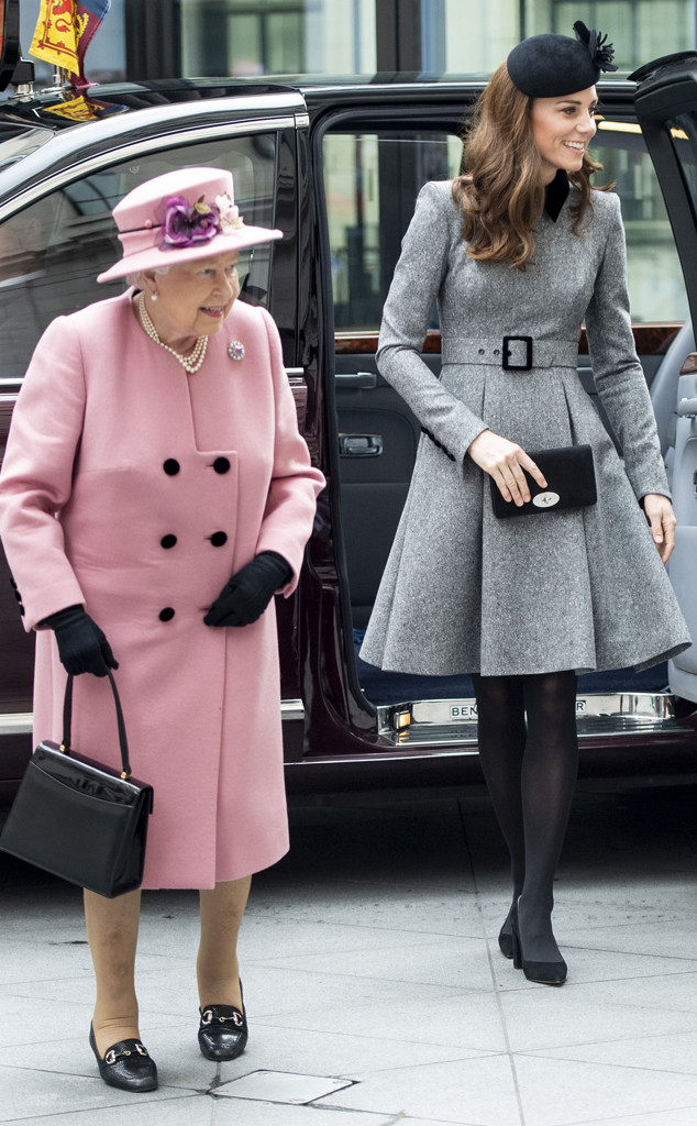 Queen Elizabeth, Kate Middleton