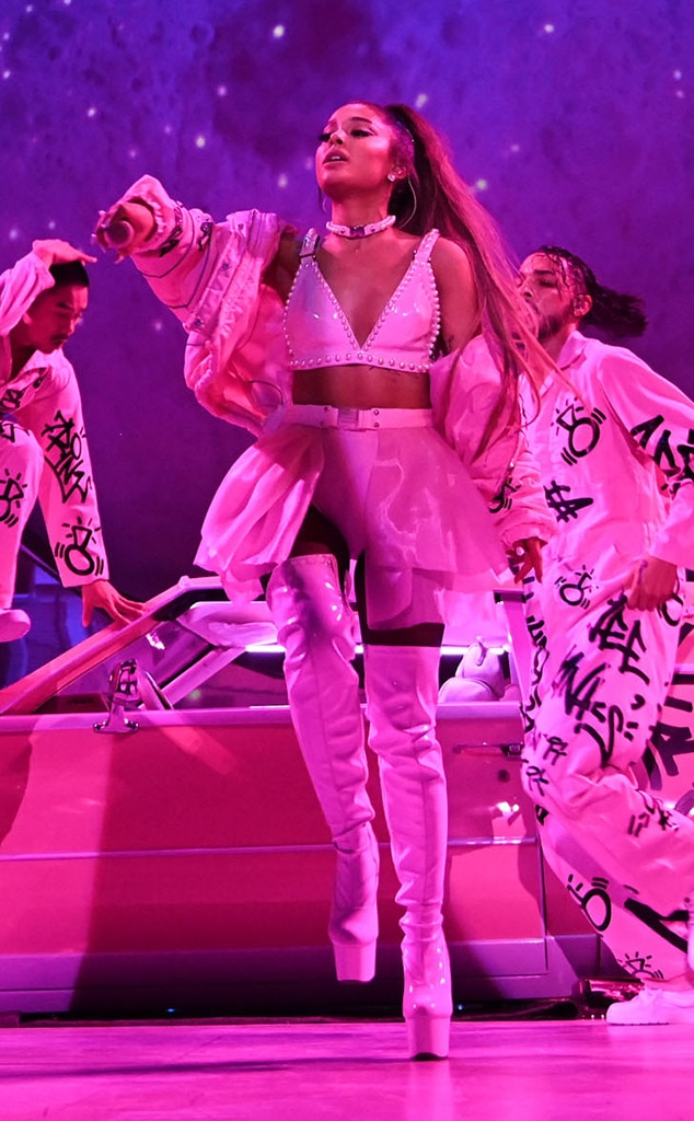Photos From See All Of Ariana Grande S Sweetener Tour Costumes E Online