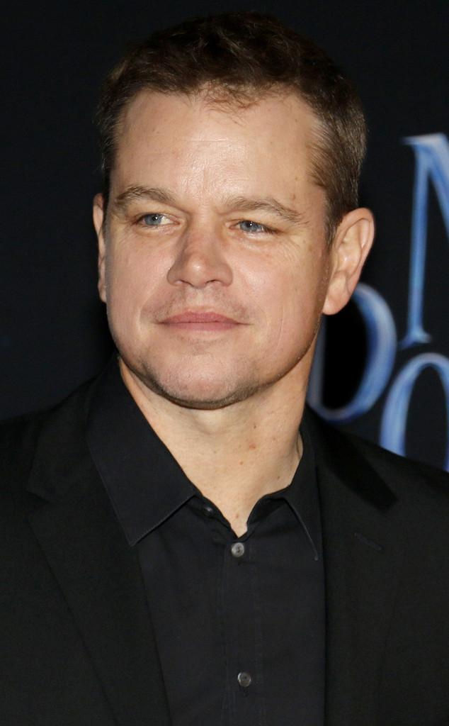 Matt Damon, Mary Poppins Returns Premiere