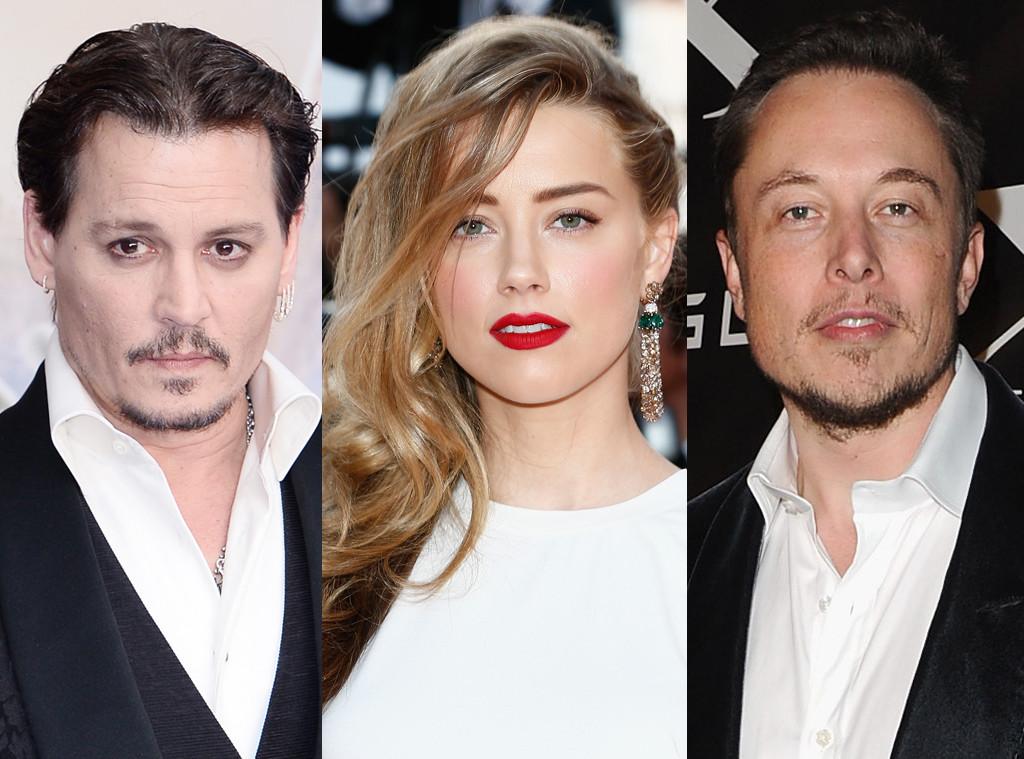 Johnny Depp, Amber Heard, Elon Musk