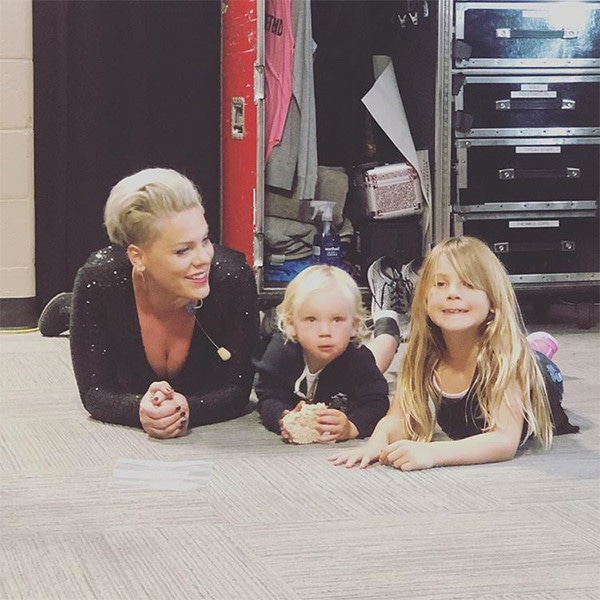 Pink, Daughter, Willow, Son, Jameson