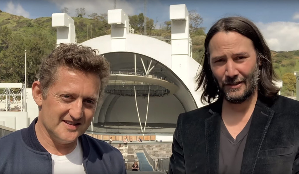 Keanu Reeves, Alex Winters, YouTube