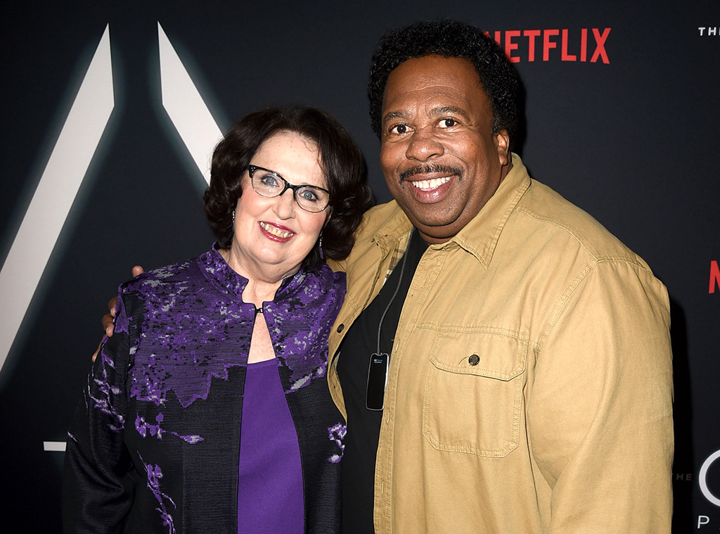 Phyllis Smith, Leslie David Baker, Netflix's premiere for The OA Part II,