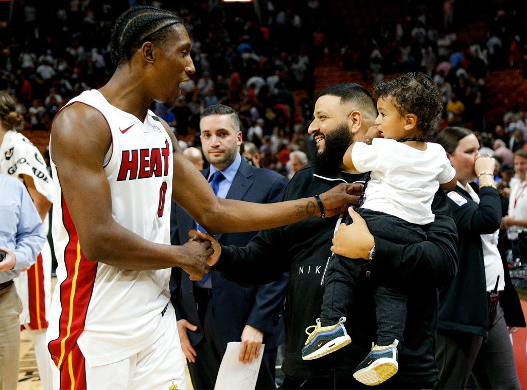 Josh Richardson, DJ Khaled, Asahd Khaled
