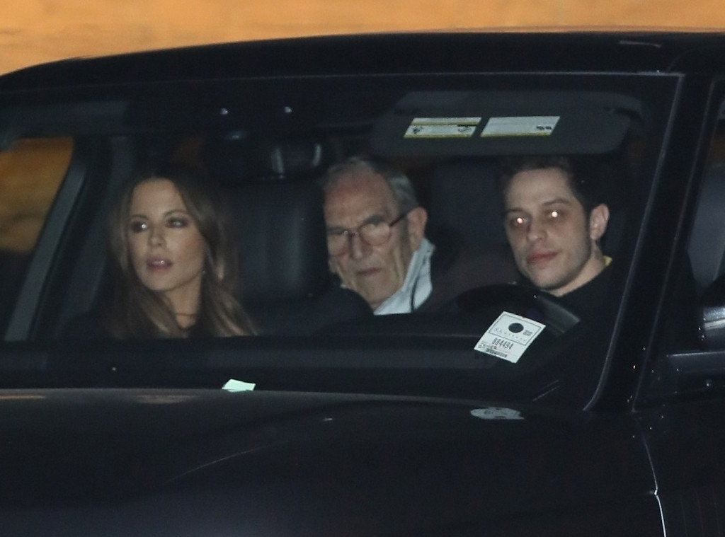 Pete Davidson and Kate Beckinsale Enjoy Date Night With Her Mom and Step-Dad