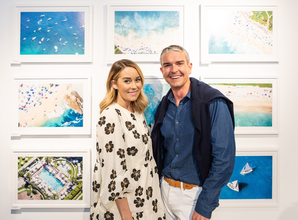 "Lauren Conrad - The Hills  star and businesswoman supports art photographer Gray Malin as he showcases his latest ""Beaches"" collection at a gallery-inspired party at Bollare's Beach Bungalow in Newport Beach, Calif."