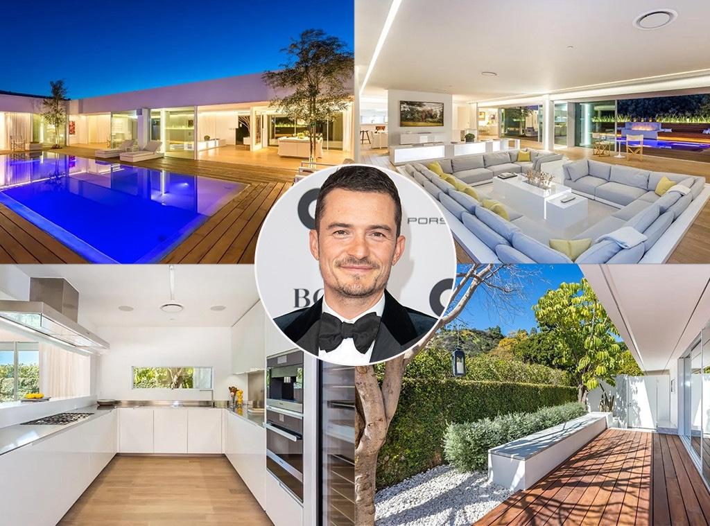 Orlando Bloom, Beverly Hills mansion, real estate