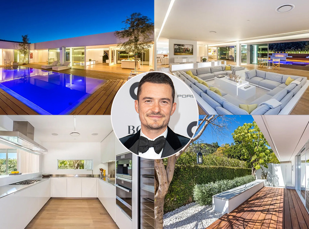 Orlando Bloom's Beverly Hills Bachelor Pad Could Be Yours for $8.9 Million