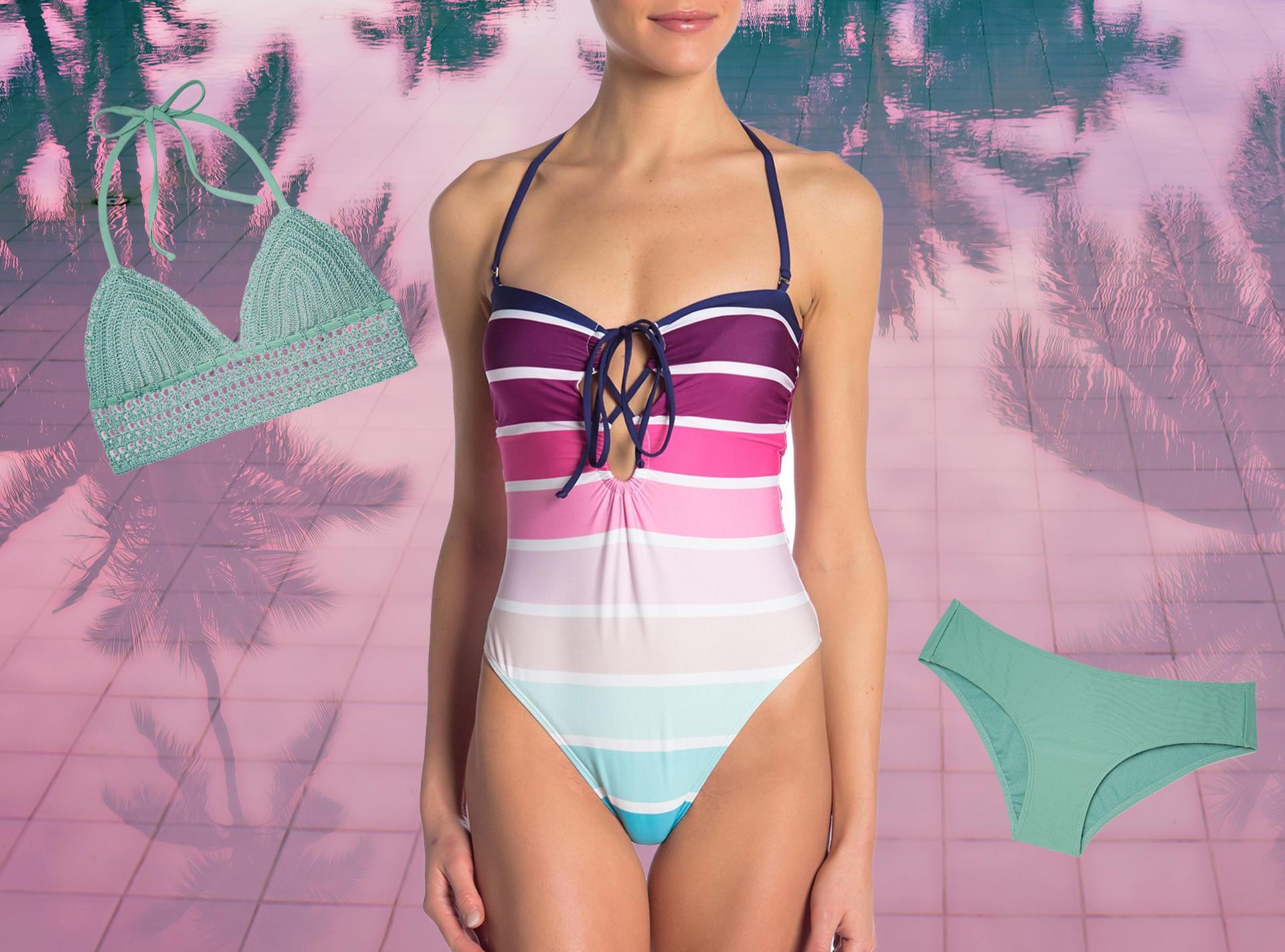 16ec732325678 Stylish Swimsuits Under $100 | E! News