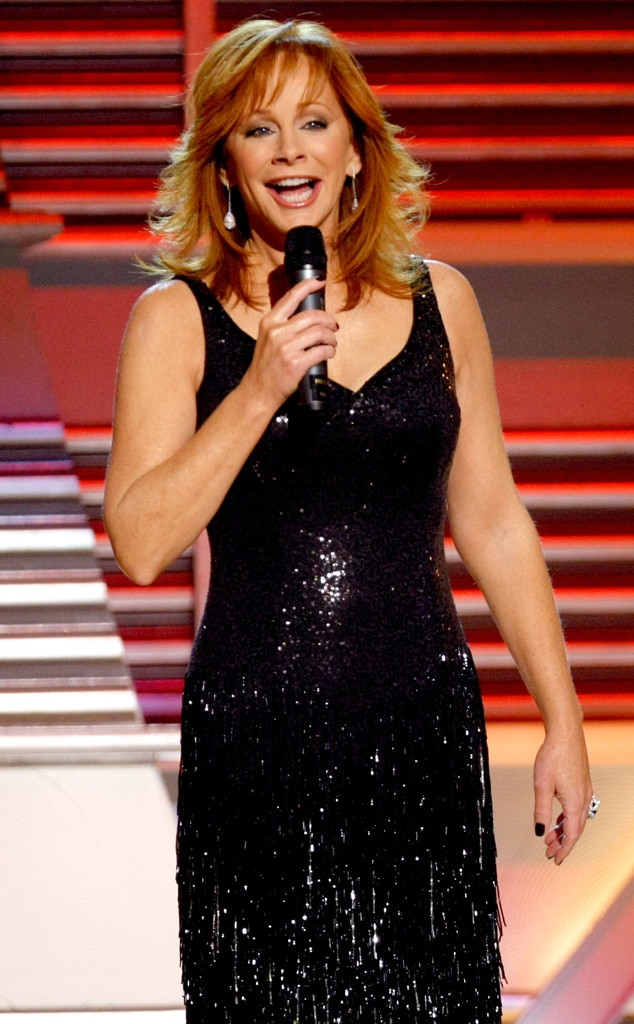 Reba McEntire -  The hostess for the night opens the show by performing one of her hits.