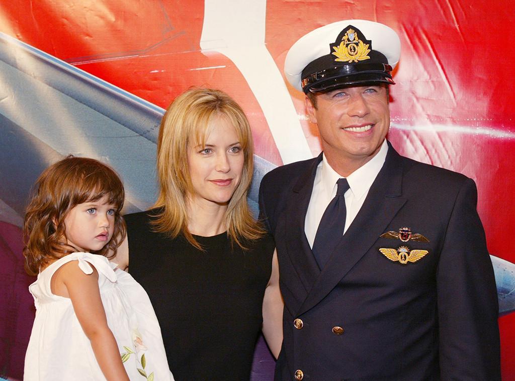 John Travolta, Kelly Preston, Ella Bleu