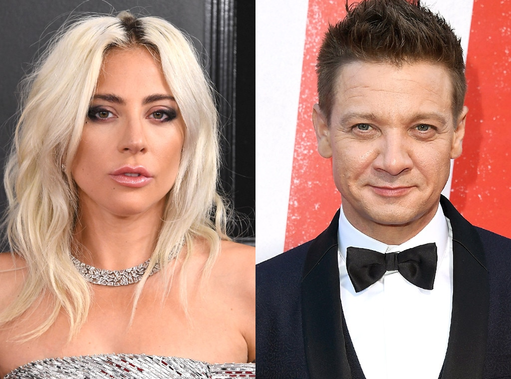 Jeremy Renner -  Gaga's relationship with the  Avengers  actor seemingly came out of nowhere in March 2019, sparking romance rumors between the two single stars. However, a source  told E!