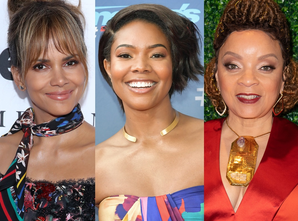Halle Berry, Gabrielle Union and Ruth E. Carter