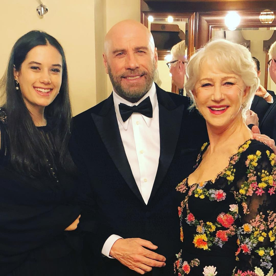 Helen Mirren, John Travolta, Ella Bleu Travolta, 2019 BraVo International Classical Music Awards