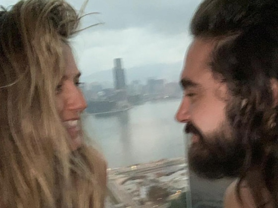 Heidi Klum Poses Topless in Steamy Photos From Hong Kong Trip