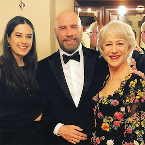 Helen Mirren, John Travolta, Ella Bleu Travolta, 2019 BraVo International Classical Music Awards