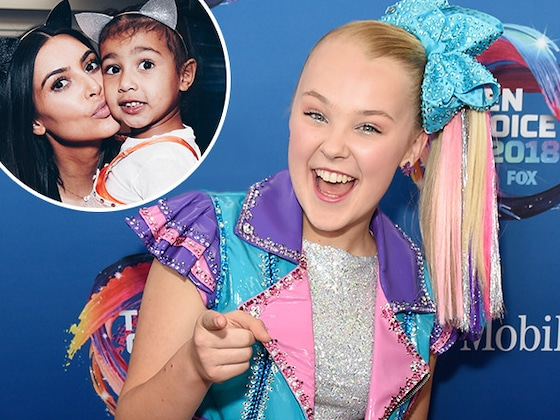 Hold Onto Your Hair Bows! JoJo Siwa and North West Are Filming a YouTube Video Together