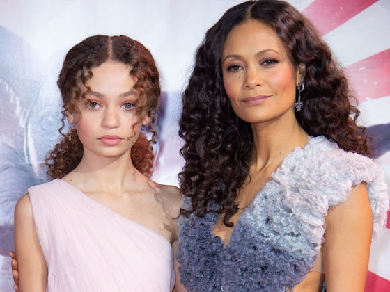 Thandie Newton Could Be Mistaken For Her 14-Year-Old Daughter on the <i>Dumbo</i> Red Carpet