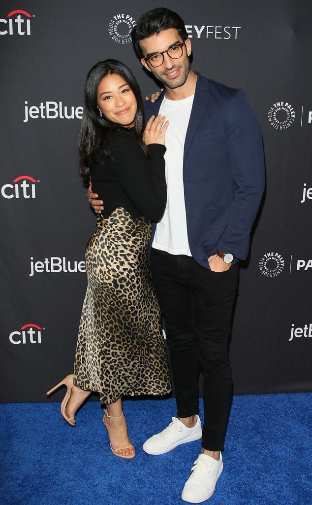 Gina Rodriguez, Justin Baldoni, 2019 PaleyFest LA