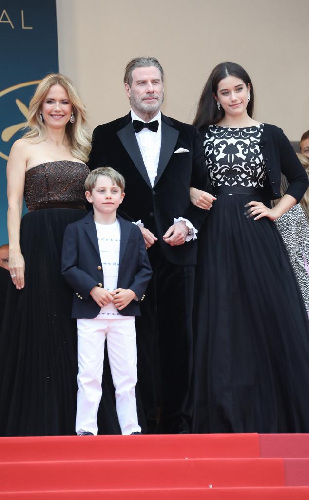 Kelly Preston, Benjamin Travolta, John Travolta, Ella Bleu Travolta