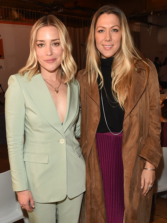 Rolling Stone 's Women Shaping the Future Brunch - Piper Perabo  and  Colbie Caillat  pair up during the mag's eventpresented by Amazon Prime Original  HANNA  at Scarpetta.