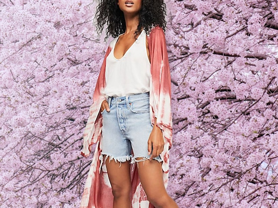 Kimono Cover-Ups for the Beach or Pool