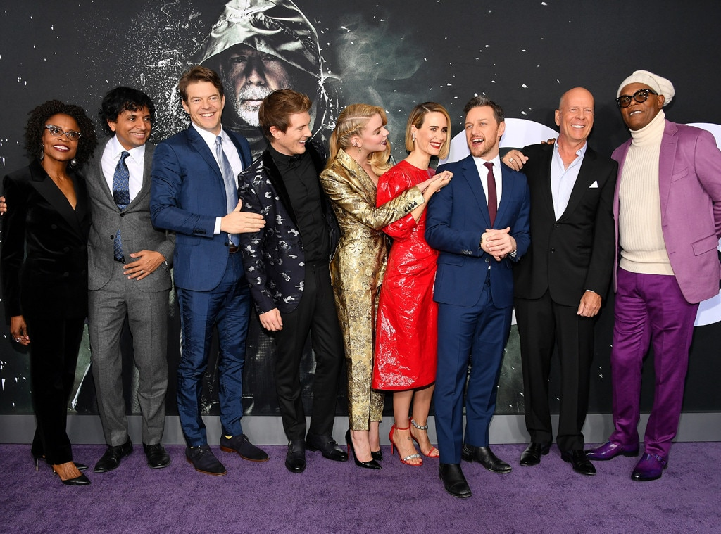 Glass Cast -  The Glass cast have a little fun during the premiere in New York.