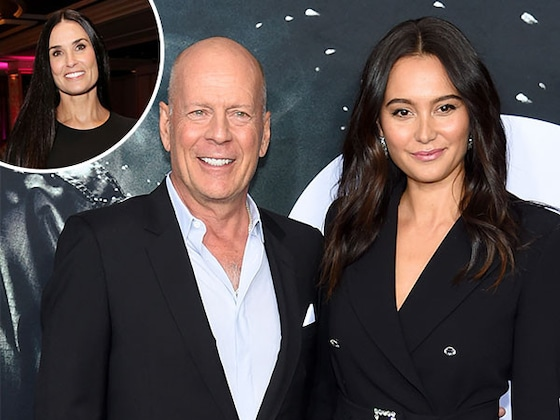 Demi Moore Attends Ex Bruce Willis' Vow Renewal to Wife Emma Heming Willis