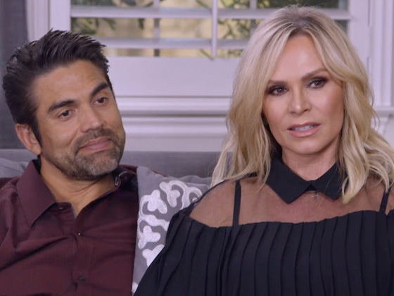 &quot;Believer&quot; Tamra Judge Has Her Skeptic Husband Eddie Join Her for a Reading on <i>Hollywood Medium</i>