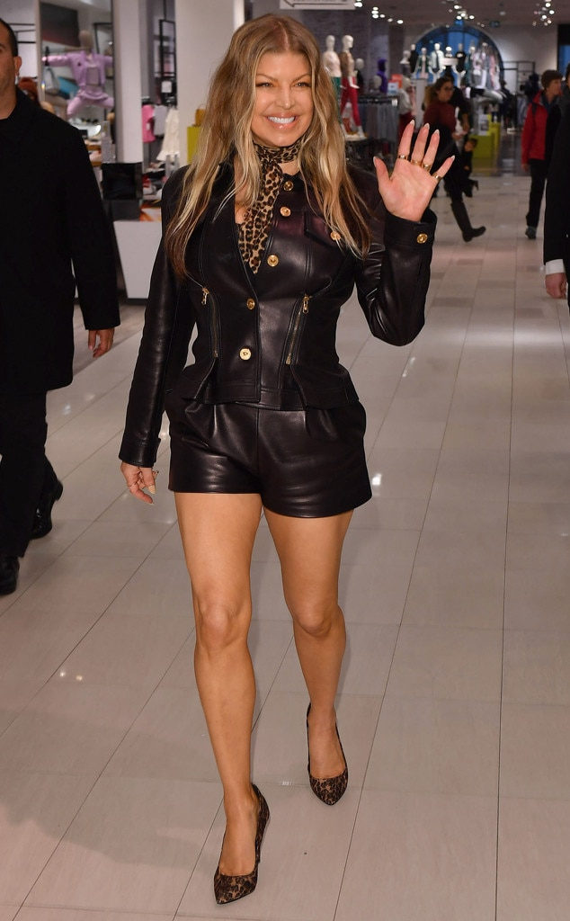 Fergie -  Lady in leather!