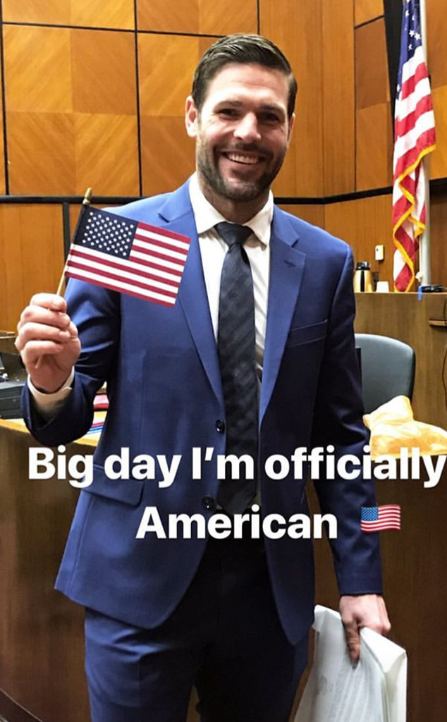 Carrie Underwood's Husband Mike Fisher Celebrates Becoming an American Citizen