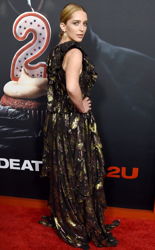 Jessica Rothe -  The actress strikes a pose during the  Happy Death Day 2U  Premiere in Hollywood.