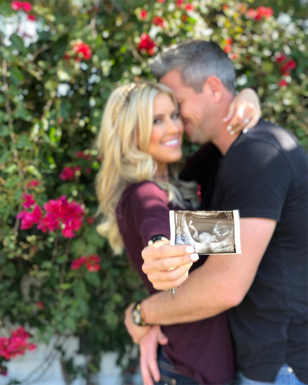 Christina El Moussa, Ant Anstead, Pregnancy Announcement