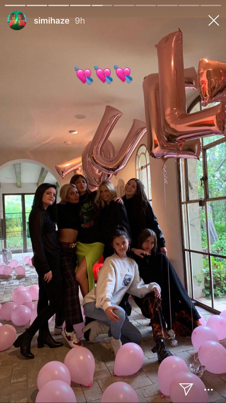 Selena Gomez, Birthdays