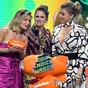 Candace Cameron Bure, Andrea Barber, Jodie Sweetin, Nickelodeon 2019 Kids Choice Awards