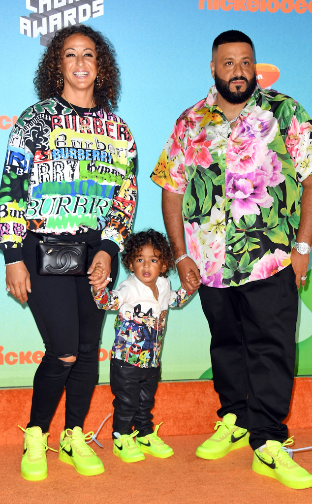 DJ Khaled, Tyga and More Celebs Turn the 2019 Kids' Choice Awards Into a Family Affair