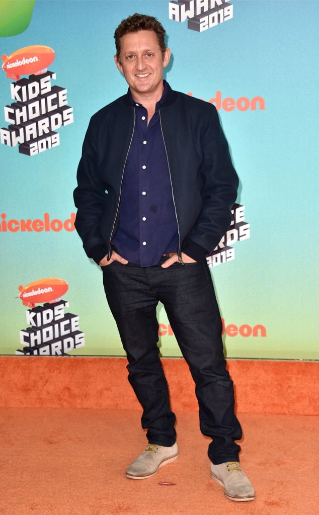 Alex Winter -  Fresh off his and Keanu Reeves ' announcement that Bill & Ted 3  is a go, the actor arrives to the Kids' Choice Awards.
