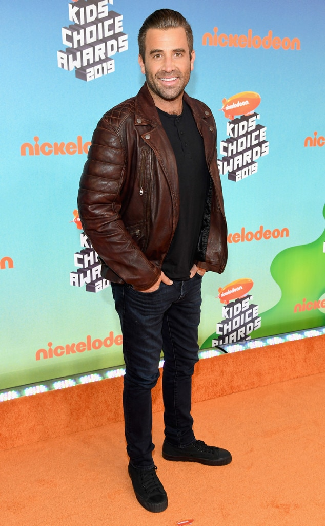 Jason Wahler - The Hills  oozes that cool factor in a brown leather jacket and dark denim.