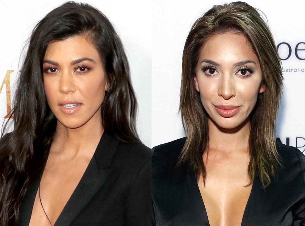 Kourtney Kardashian, Farrah Abraham