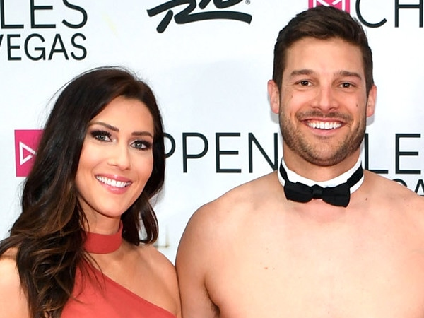 <i>The Bachelorette</i>'s Becca Kufrin Gets a Lap Dance From Garrett Yrigoyen at Chippendales Show
