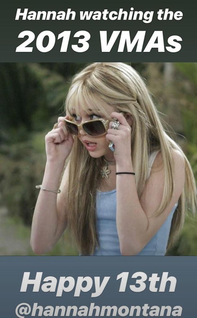 Miley Cyrus, Hannah Montana, Instagram