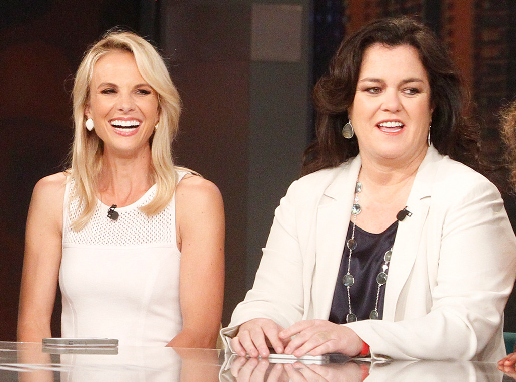 The View, Elisabeth Hasselbeck, Rosie ODonnell, Reunion, 2014
