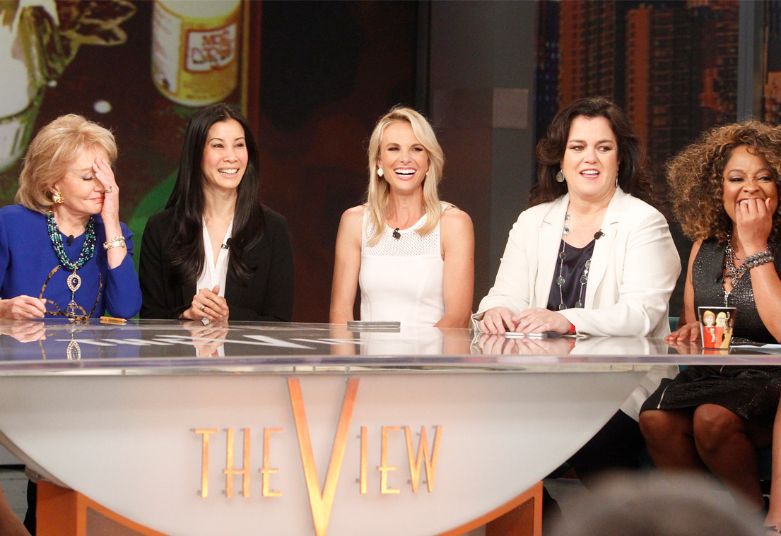 Rosie O'Donnell, Elisabeth Hasselbeck, The View
