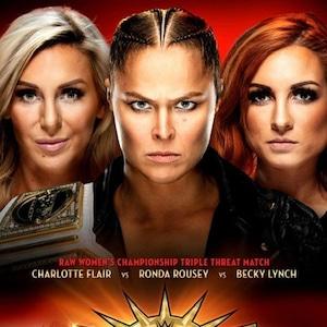 Ronda Rousey, WrestleMania