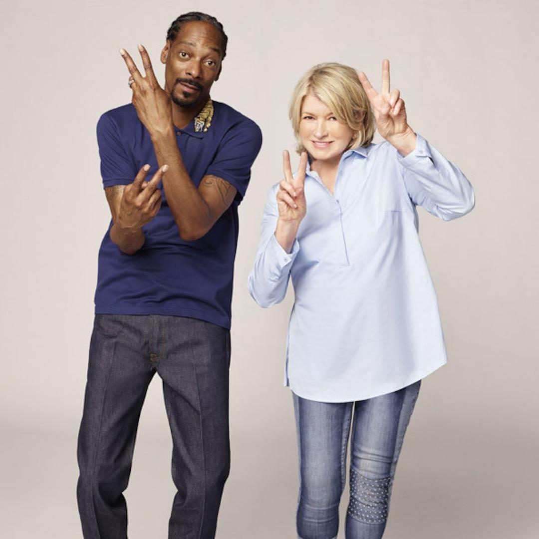 "Watch Snoop Dogg & Martha Stewart Eat Literal ""Roasted S--t"" in New Halloween Show"