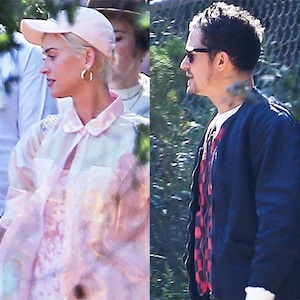 Katy Perry, Orlando Bloom, Kanye's Church Service