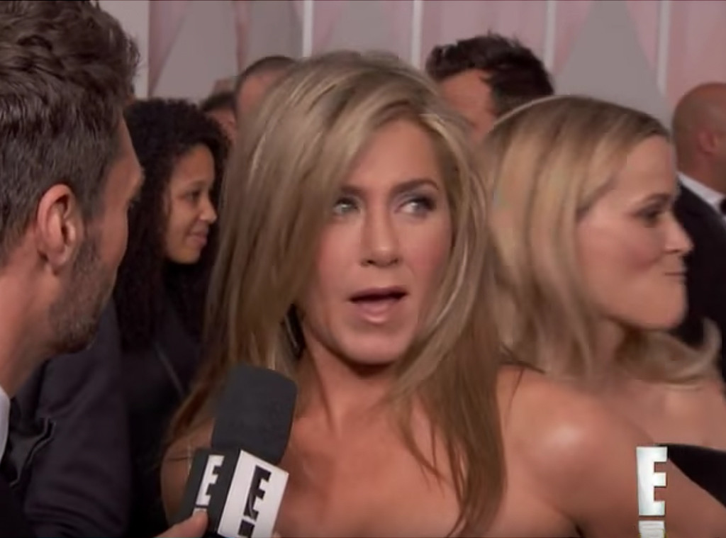 Jennifer Aniston, Reese Witherspoon, 2015 Oscars