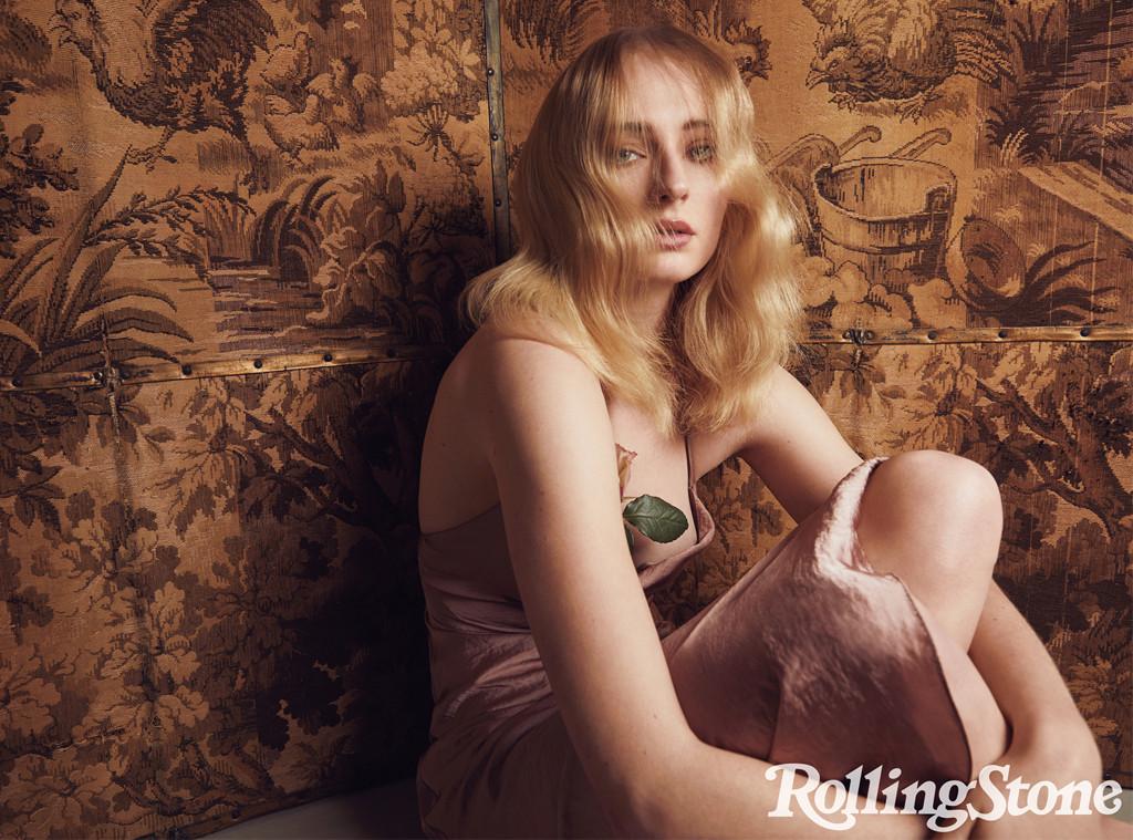 Sophie Turner, Maisie Williams, Rolling Stone magazine