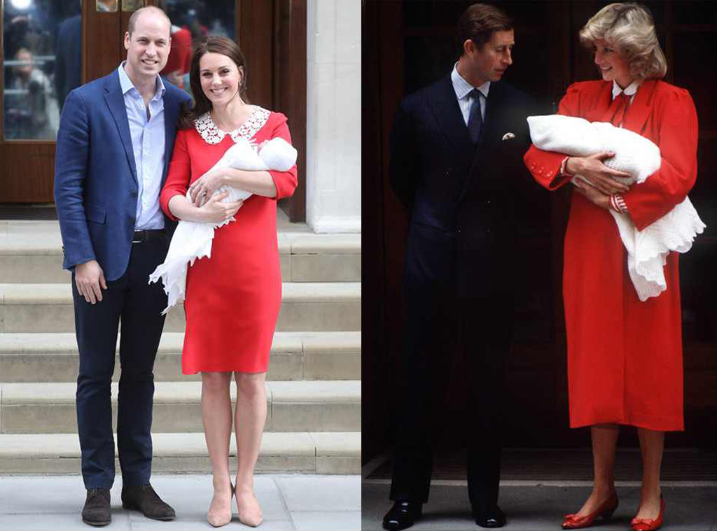 ESC: Princess Diana, Prince Harry, kate Middleton, Baby Three