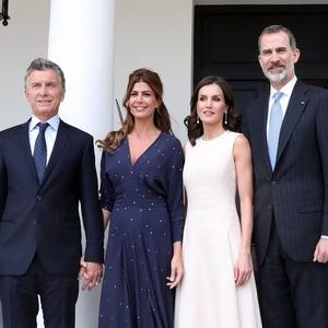 Mauricio Macri, Juliana Awada, Reina Letizia, Rey Felipe